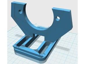 Support extruder for Prusa i3 - No sides