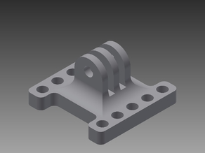 GoPro LEGO Technic Mount