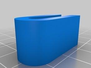 Robo3d Polycarbonate Plate Bed Clip
