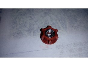 M3 Hex Nut Knob Shell