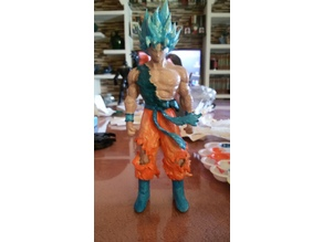 Blue Goku Dragon Ball Z
