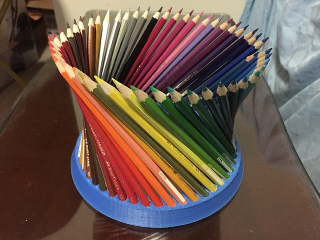 customizable fancy pencil holder  you choose the number