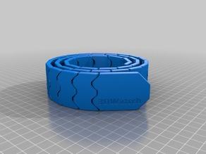 My Customized printed Belt (print in place, , MMU design)