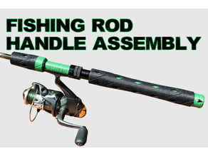 Spinning Rod (Fishing Rod) Handle Assembly
