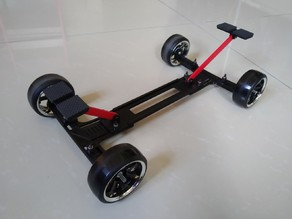 Adjustable RC Body Shell Display Chassis for 1/10 or M Chassis