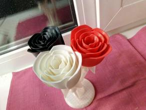Stand-holder for roses