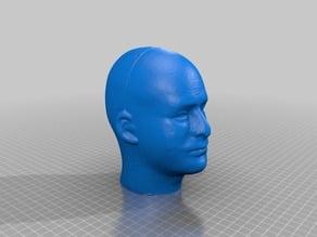 Styrofoam Mannequin Head - Male