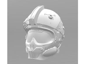 Expanse MCRN Marine Space Helmet (remix )