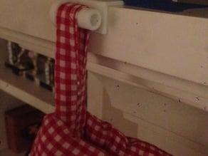 Christmas stocking holder for mantle