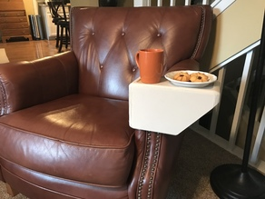 Leather Chair Cup Holder
