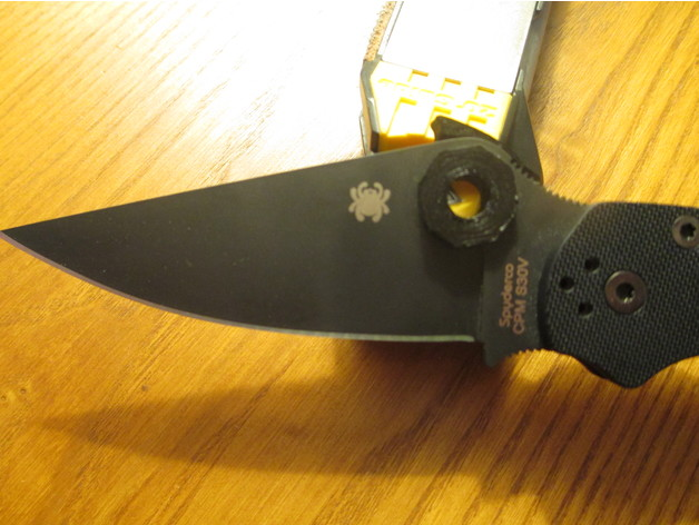 Wave Mod for Spyderco PM2 by RDMasters_8 - Thingiverse