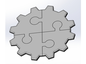 Simple Gear Puzzle by Vocademy