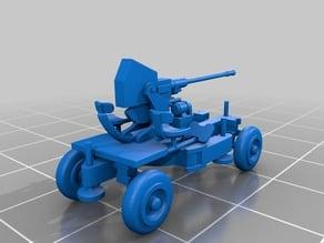 Remix of marcusmole Bofors gun 40mm light AA