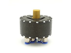 Pneumatic rotational stepper motor: R-64