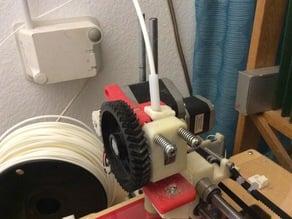 Makes printrbot original a bit better - filament feeder
