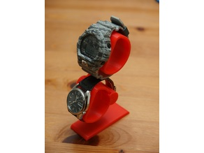 Double watch stand
