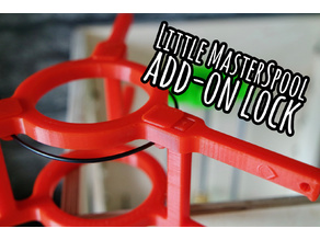 Little MasterSpool v1 add-on lock