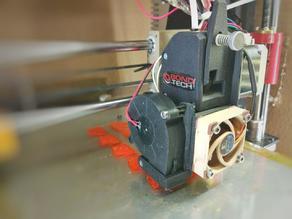 Bondtech BMG mount BLTouch P3steel 40mm fan