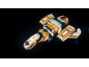 Printable Freelancer MAX Star Citizen