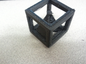 Pyramid In Cube