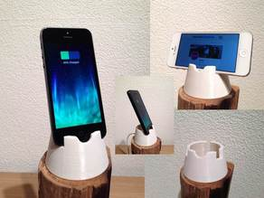 Iphone 4, 4S, 5, 5C and 5S dock / stand