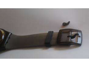 watch buckle pin and hoop loop holder