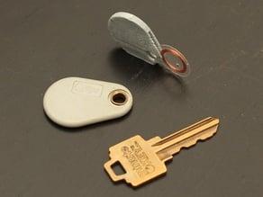 Keyfob for RFID tag