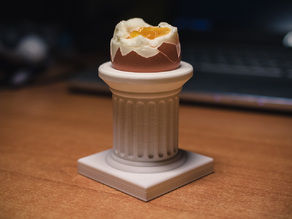 Doric Column Egg Holder