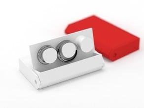 Three ring holder case