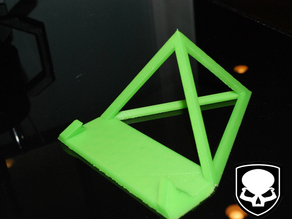 Pyramid Tablet / Phone Stand - prints without support