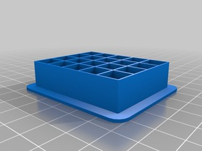 225 different grid cookie cutter - 10mm x 10mm