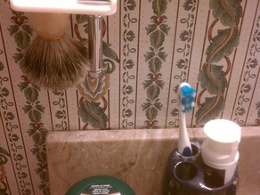 Brush and Razor holder