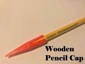 Wooden Pencil Cap