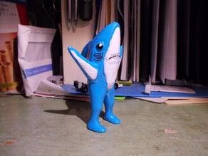Left Shark Monochrome