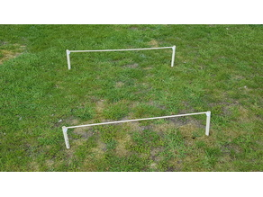 Easy DIY Modular Agility Jumping Fence for Small Dogs and other Animals