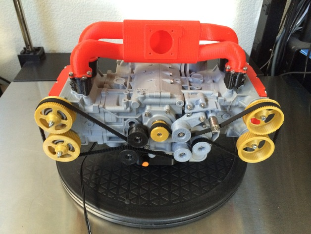 Subaru Boxer Engine >> Subaru Wrx Ej20 Boxer Engine Model Fully Functioning By