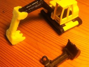 Replacement Shovel for Digger (siku 0801)