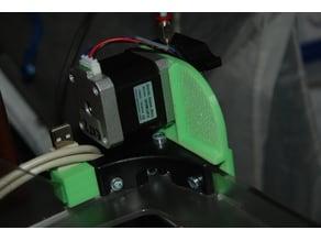 Vertex extruder front mount