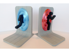 Snap On Portal Bookstand with tiles