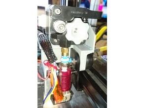 Direct drive extruder: drive holder, fan holder