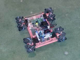 Mecanum robotics platform for the Raspberry pi