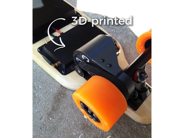 electric skateboard motor mount caliber trucks by. Black Bedroom Furniture Sets. Home Design Ideas