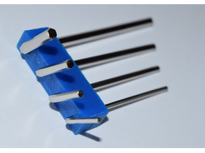 Hex key holder for the four tools that come with the Anet A8