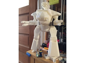 Fully Posable Raider Titanic Robot