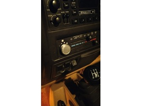 Jeep TJ Fan Control Knob