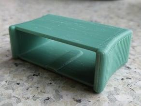 Tensioner / slider for flexible slat bed