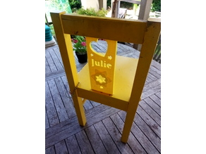 Replacement backplate for KRITTER Ikea kids chair