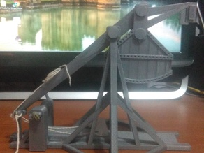 CATAPULT TREBUCHET REPLICA