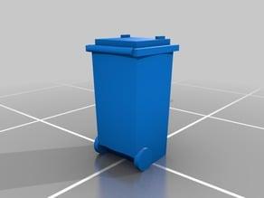 N Scale 1:160 240l trashcan