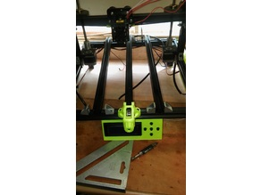 Tronxy x3 bed stabilizer mod